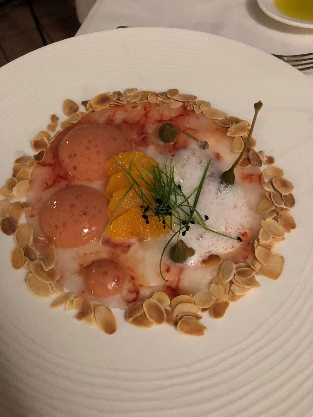 The Gastronome Restaurant Reviews - Belmond Villa Sant' Andrea, Restaurant Oliviero