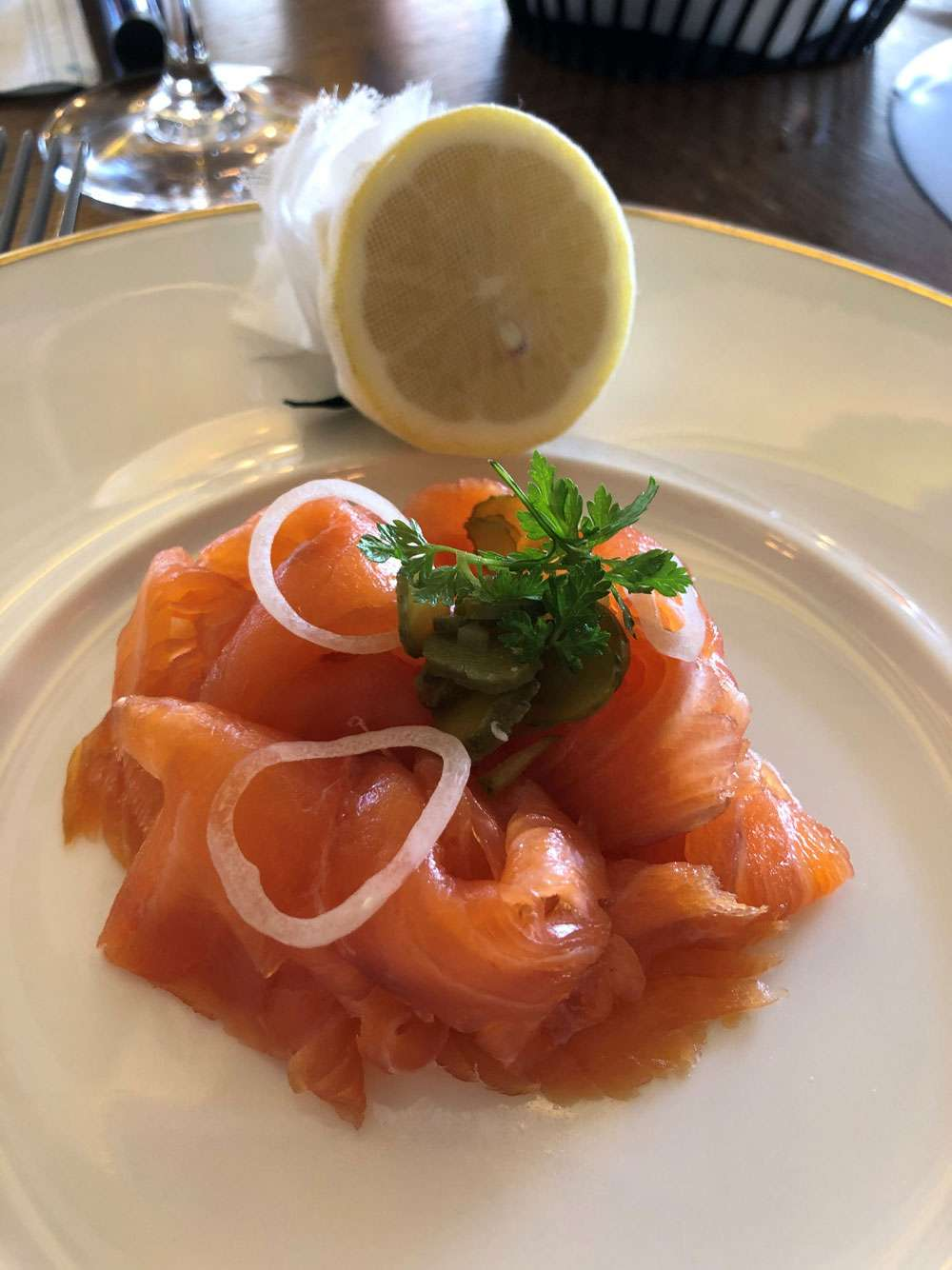 The Gastronome Restaurant Reviews - Brasserie Prince, The Balmoral, 1 Princes St, Edinburgh EH2 2EQ